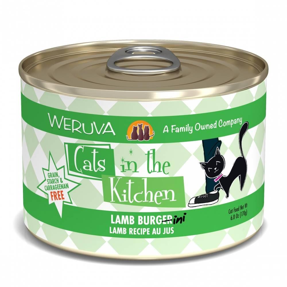 Weruva Cats in the Kitchen Lamb Burgini