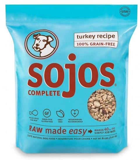Sojos Dehydrated Raw Pet Food