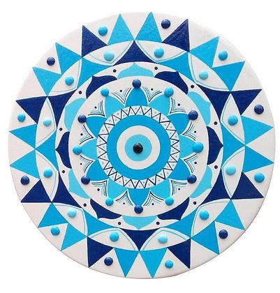 Mandala olho grego