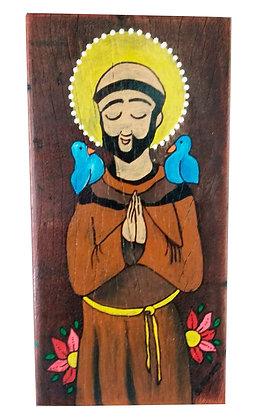 São Francisco em madeira