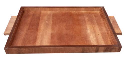 Bandeja em madeira