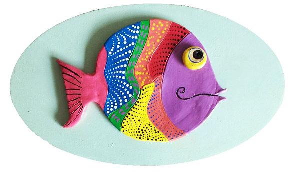 Peixe em cerâmica