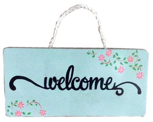 """Placas """"Welcome"""""""