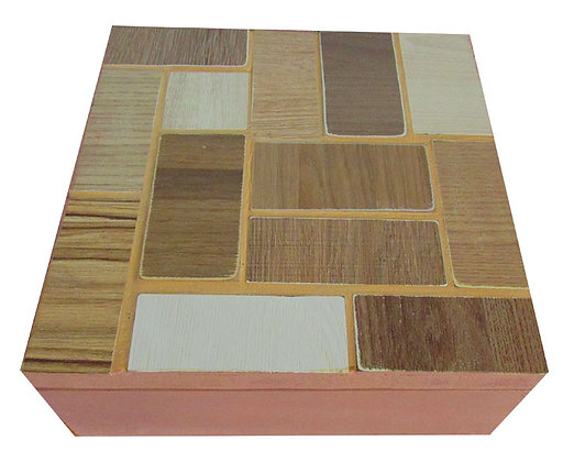 Caixa em madeira