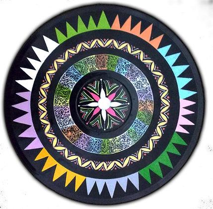 Mandala vinil 78 rotações
