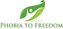 Phobia to Freedom logo