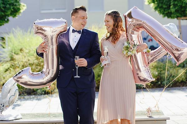 Hochzeit, Standesamt, Brautpaar