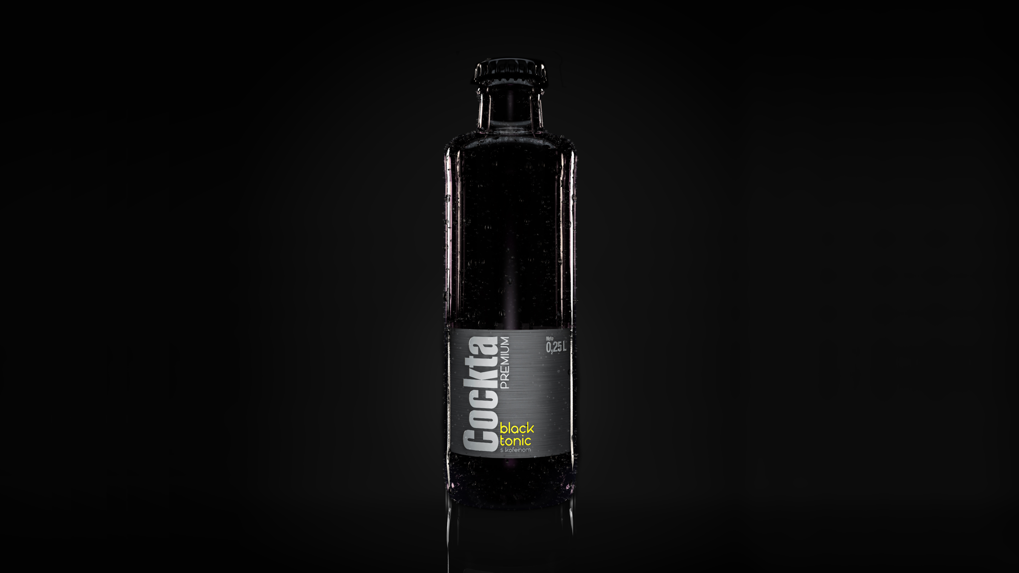 Cockta Black Tonic - Vidrio