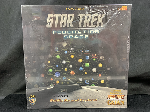 Catan Star Trek Federation Space