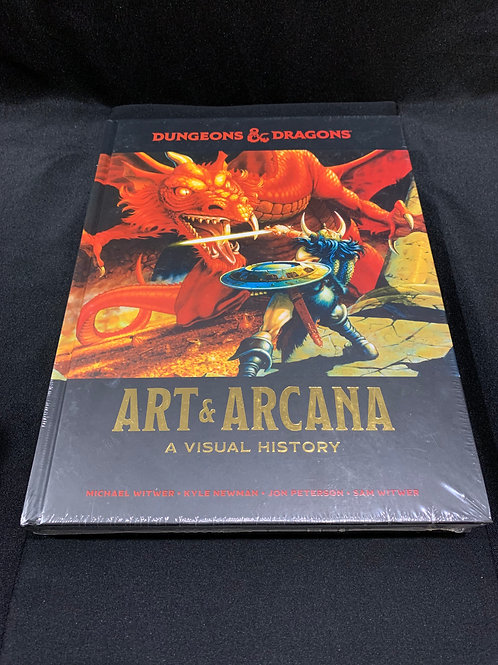 D&D Art & Arcana Book