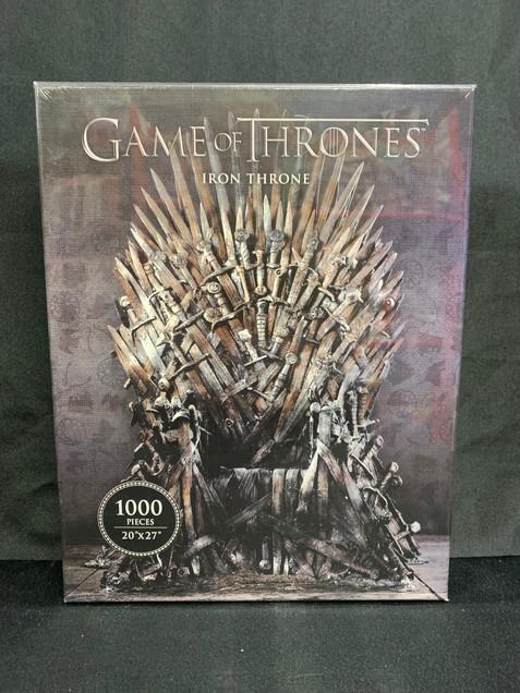 Game of Thrones Iron Throne 1000 Puzzle
