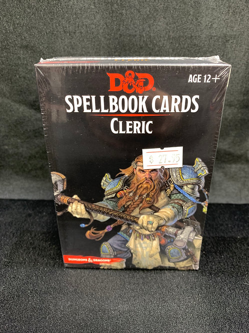 D&D Spellbook Cards Cleric