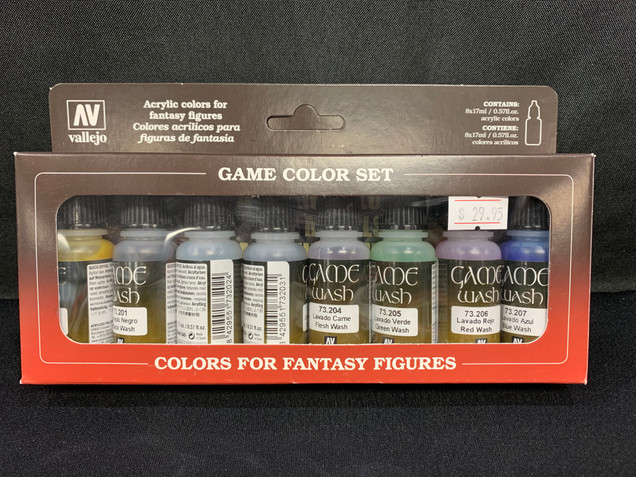 Game Colour Wash