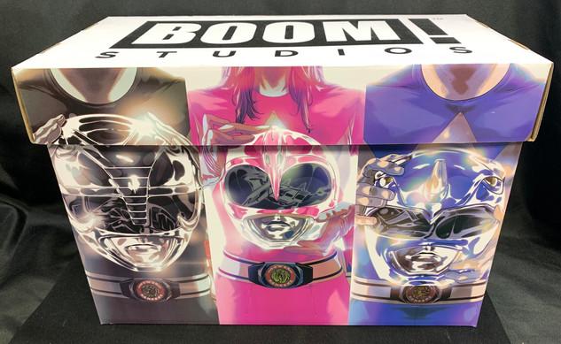 Power Rangers Comic Box