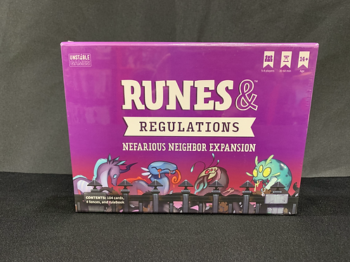 Runes & Regulations Nefarious Neighbor