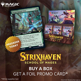 Strixhaven Set Booster