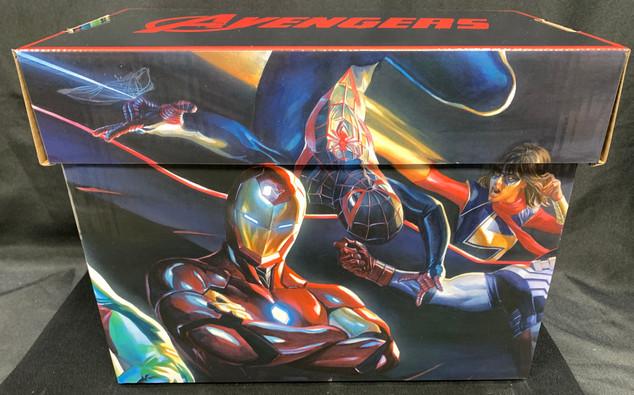Avengers Comic Box (Side A)