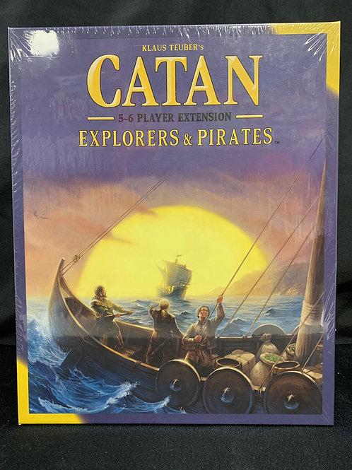 Catan Explorers & Pirates 5-6 Players