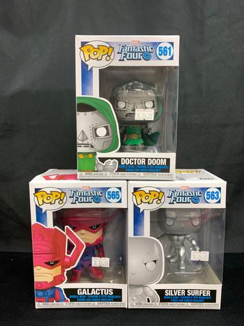 Fantastic Four Pops!