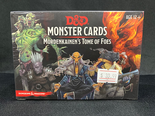 D&D Mordenkainen's Tome of Foes Monster Cards