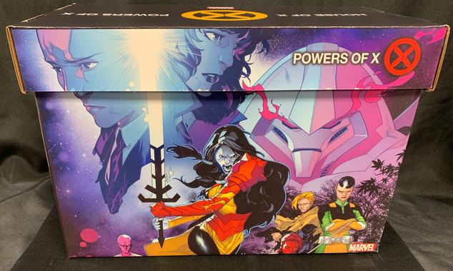 X-Men Comic Box (Side A)