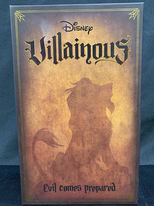 Disney Villainous Evil Comes Prepared