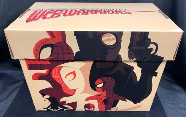 Spider-Man Web Warriors Comic Box