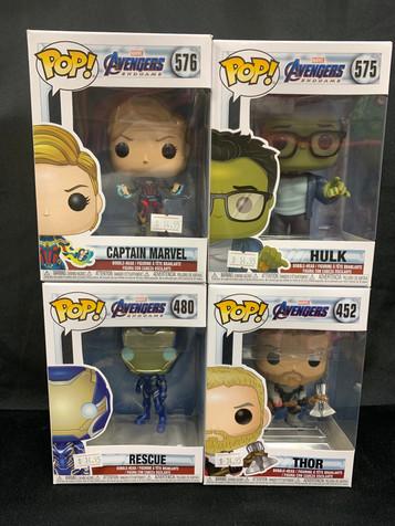 Avengers Endgame Pops!