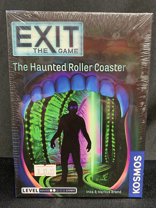 Exit: Haunted Roller Coaster