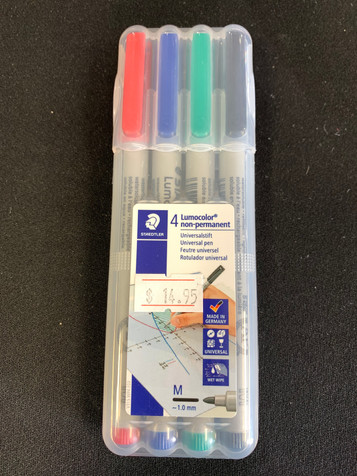 Wet Erase Markers 4 Pack