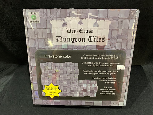 Dry Erase Dungeon Tiles Graystone