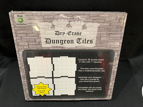 Dry Erase Dungeon Tiles