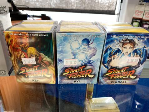 Dragon Shield Street Fighter Sleeves