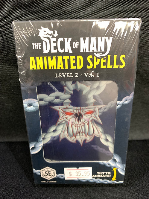The Deck of Many Animated Spells Level 2 Vol.1