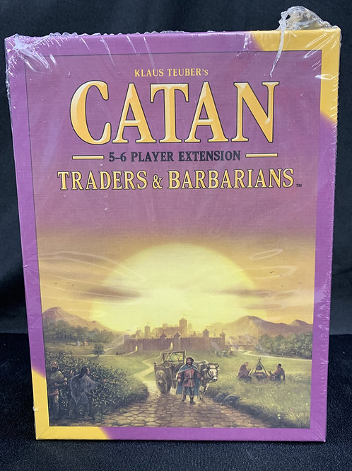 Catan Traders & Barbarians 5-6 Player