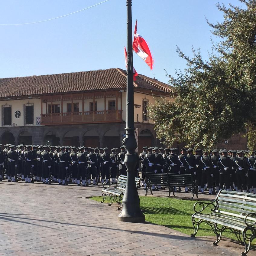 More military parades