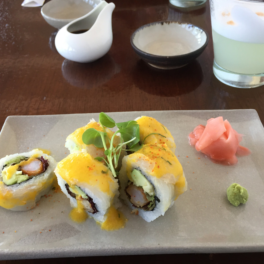 Peruvian sushi. INCREDIBLE AAARRRGGH. WANT MORE.