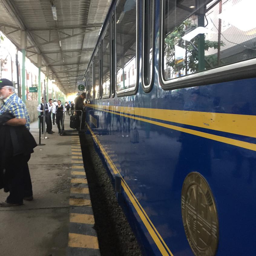 The luxurious train
