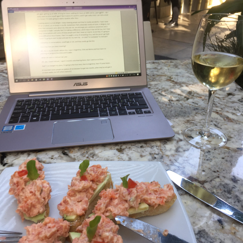 As I wrote my blog at Aguas Calientes.