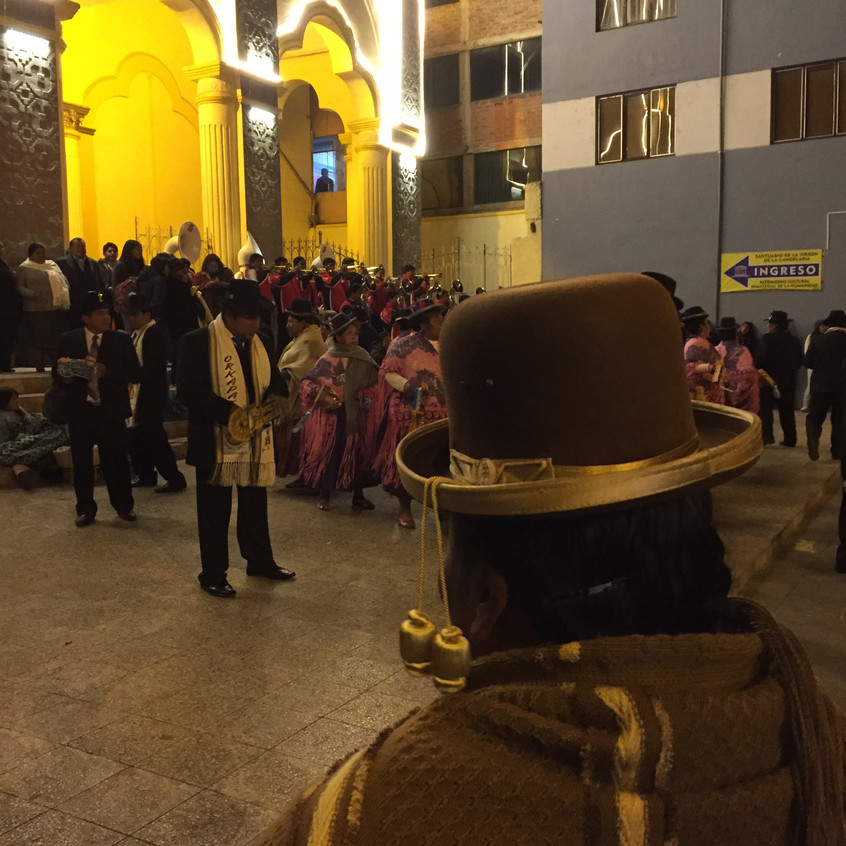 Puno, tonight. There was a festival.
