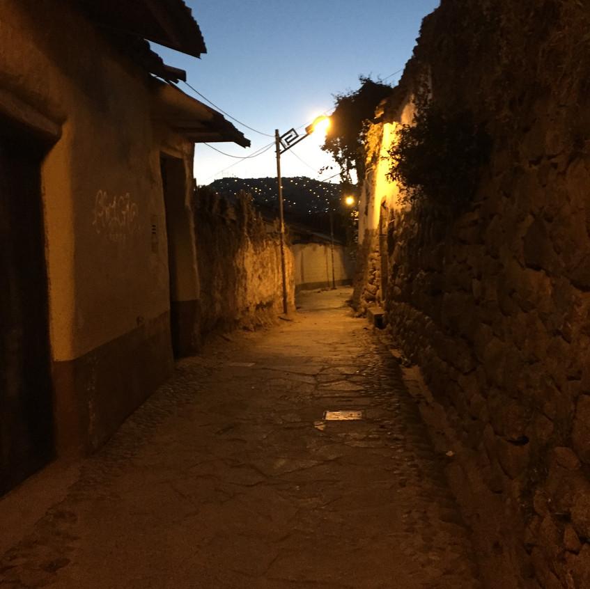 A street in San Blas. So quiet...