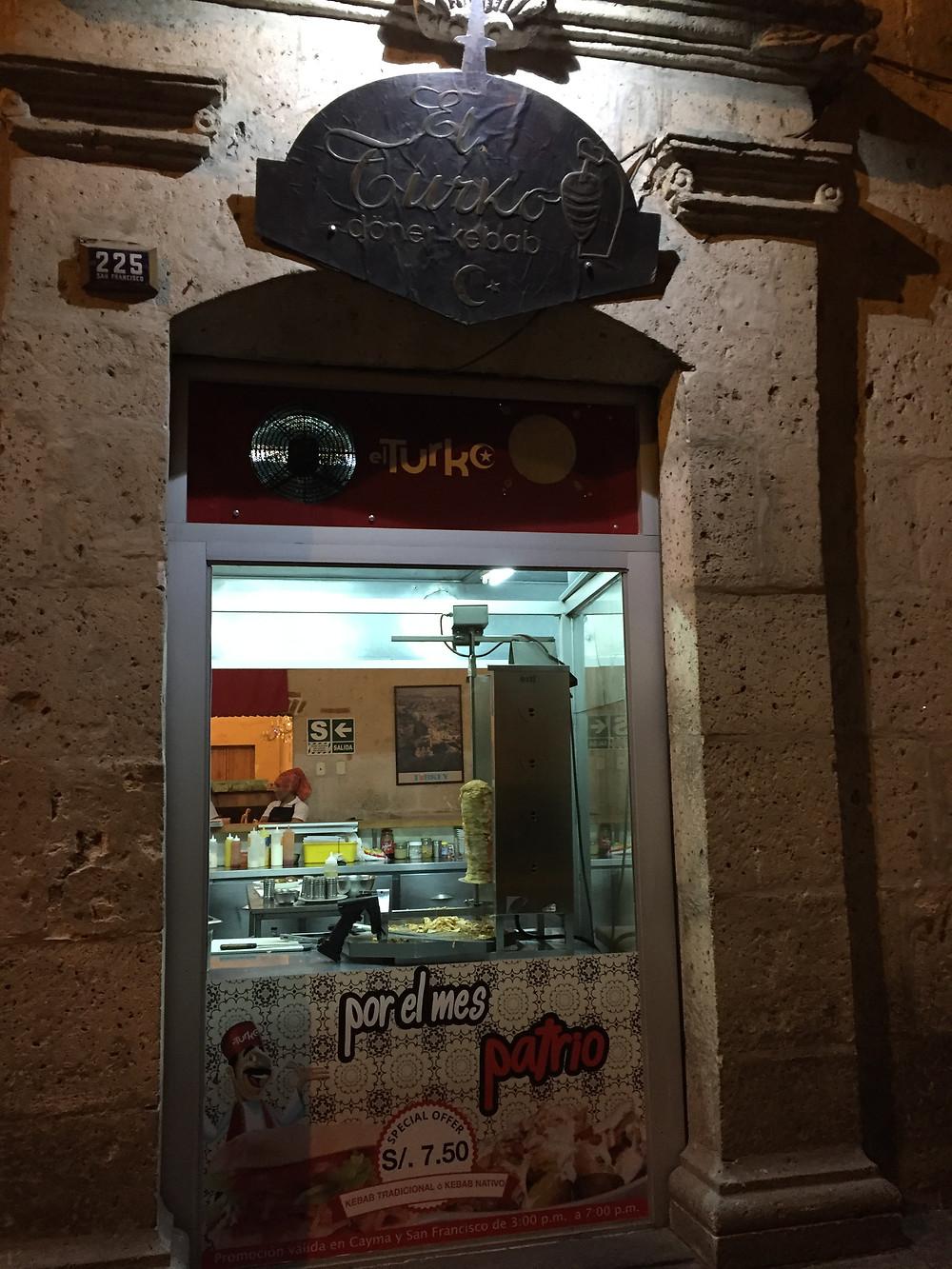 Turkish bar and restaurant!