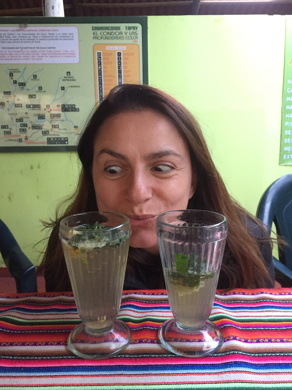 Happy Hour on the 2nd day: mojitos