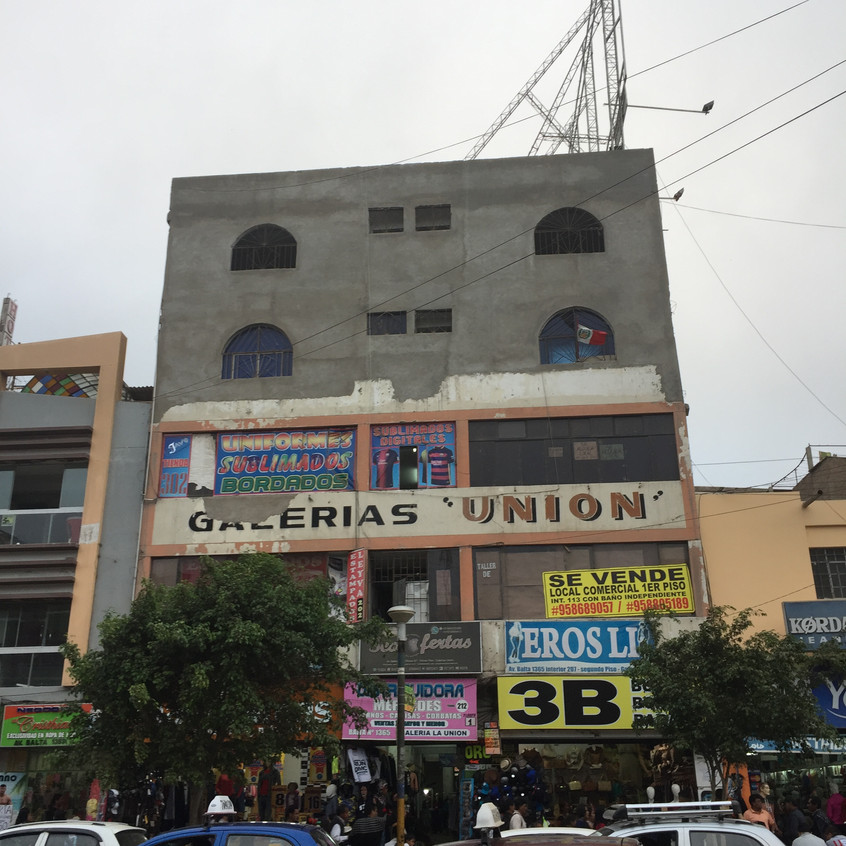 An ugly building in Chiclayo