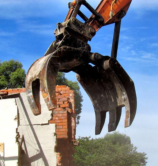 Heavy Demolition Hire