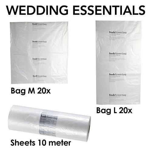 Fresh Flower Bag WEDDING ESSENTIALS