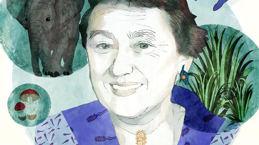 Lynn Margulis Portrait