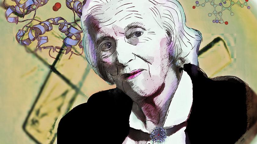 Dorothy Hodgkin Portrait