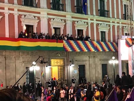 La esperanza del pueblo boliviano
