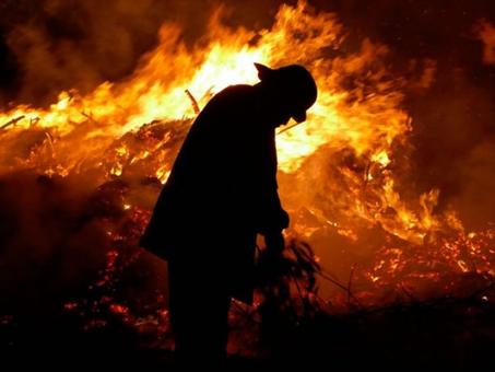 El fuego azota a la Argentina